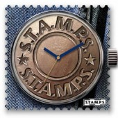 Stamps Uhr Water-Resistant Fly Button