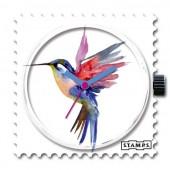 Stamps Uhr  Humming Bird