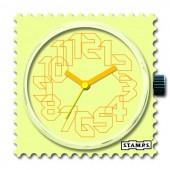 Stamps Uhr Iris Yellow