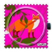 Stamps Pink Fox