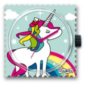 Stamps Uhr Rainbow
