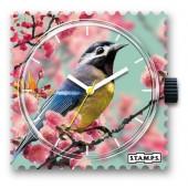 Stamps Uhr Romantic Bird