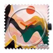 Stamps Uhr Sundown
