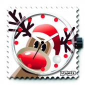 Stamps Uhr X-Mas Rudi