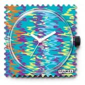 Stamps Uhr Zigzag