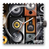 Stamps Uhr Water-Resistant Beats Per Minute