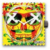 Stamps Uhr Water-Resistant Chilli Skull