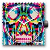 Stamps Uhr Water-Resistant Crazy Skull