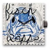Stamps Uhr Water-Resistant Fischkoeppe