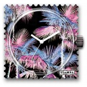 Stamps Uhr Water-Resistant Miami Pink