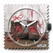 Stamps Uhr X-Mas In Front Of The Door
