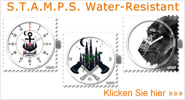 Stamps Water Resistant Sortiment