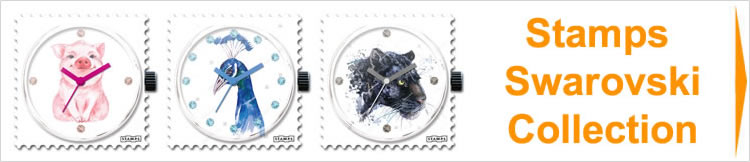 Stamps Uhren Swarovski Collection